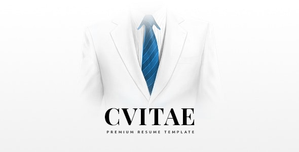 CVitae - Responsive Materialized Resume - Resume / CV Specialty Pages