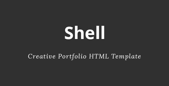Shell - Creative HTML Template - Creative Site Templates