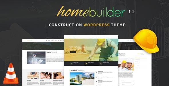 HomeBuilder - Building & Construction WordPress Theme - Business Corporate