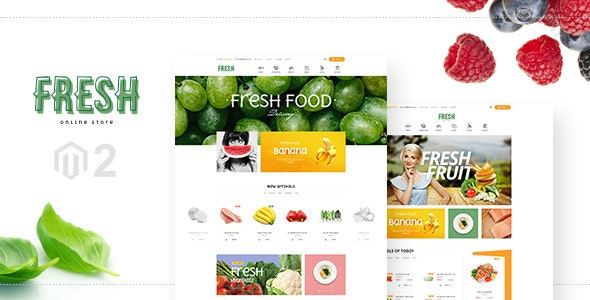 Fresh Magento 2 Template - Shopping Magento