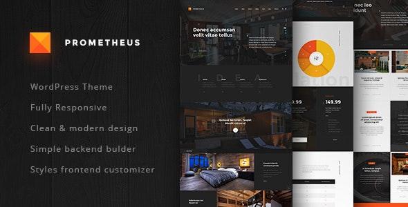 WordPress Theme for Architects - Prometheus - Business Corporate