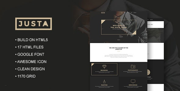 Justa - Business HTML5 Template - Business Corporate