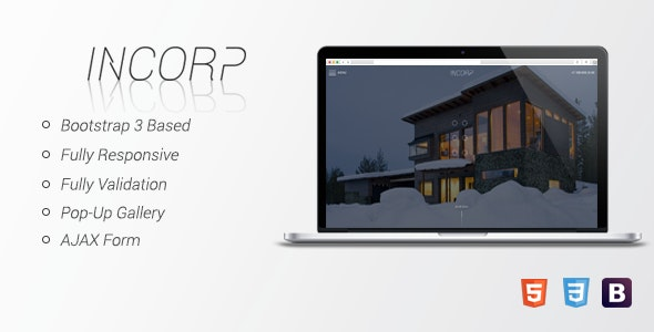 InCorp - HTML Corporate Landing Page - Corporate Site Templates