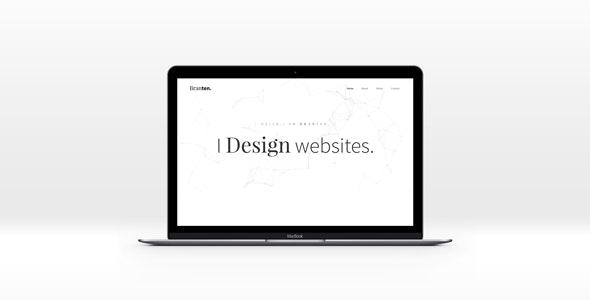 Branten - Personal Portfolio HTML Template - Personal Site Templates