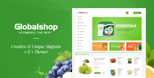 Global Market Magento 2 Template - Shopping Magento