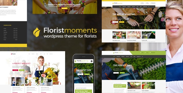 Florist - Florist & Landscaping WP Theme - Business Corporate