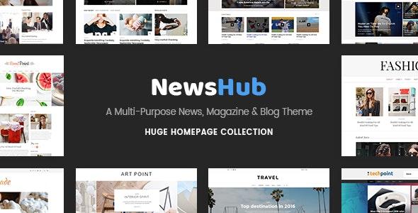 Newshub - Magazine & News Portal Theme - News / Editorial Blog / Magazine