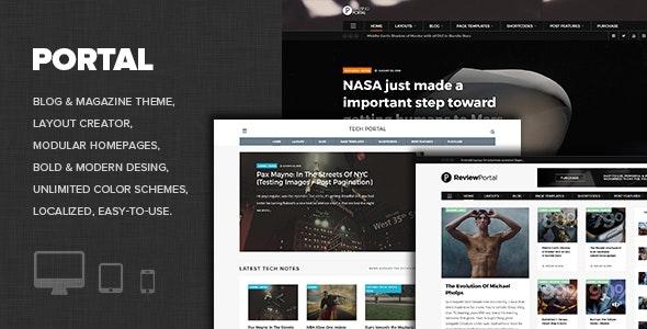 WP Portal - Review & Technology Blogging WordPress Theme - News / Editorial Blog / Magazine