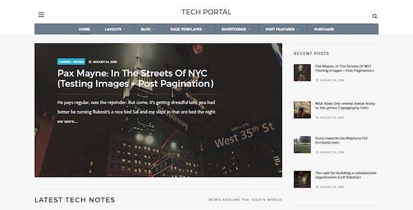WP Portal - Review & Technology Blogging WordPress Theme