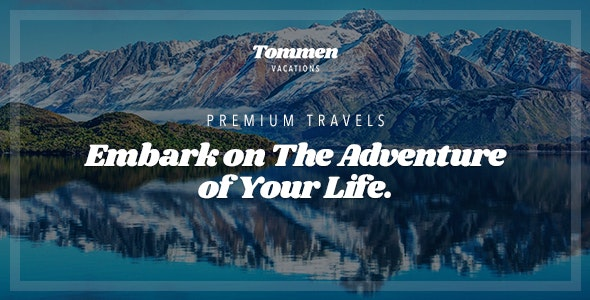 Tommen - Traveling & Vacations PSD Template - Travel Retail