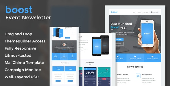 Boost - App Promotional Email + Online Builder Access by