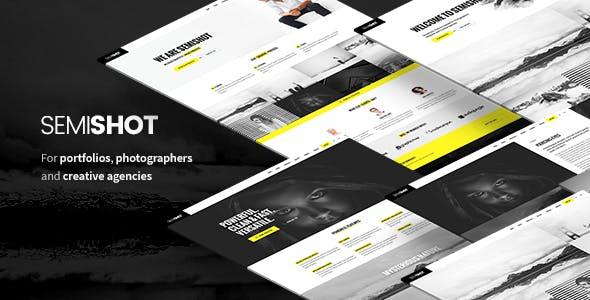 Semishot - Creative WordPress Theme for Portfolios, Photographers and Agencies