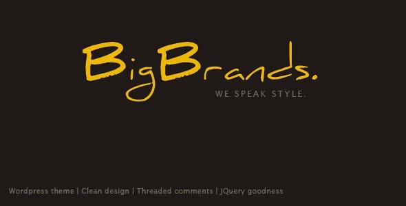 BigBrands - Wordpress - Portfolio Creative