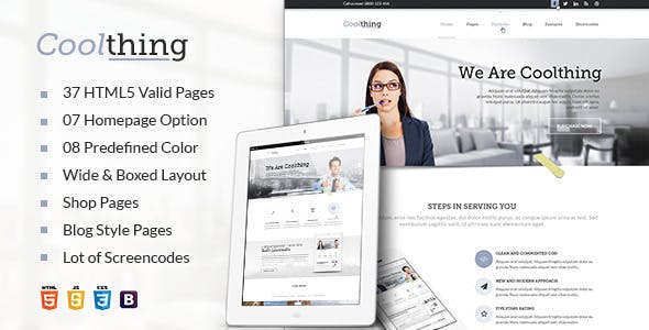 Cool Corporate Business Template