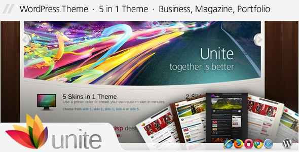 Unite - WordPress Business, Magazine Theme - Business Corporate