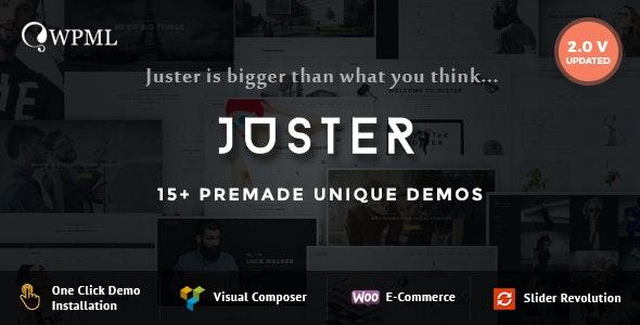 Juster - Multi-Purpose WordPress Theme - Creative WordPress