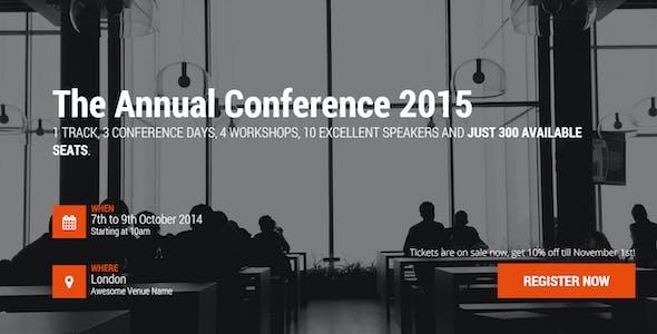 Event & Conference WordPress Theme