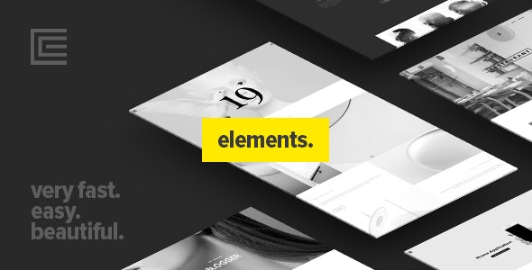 Elements - Creative Multi-Purpose WordPress Theme - Creative WordPress