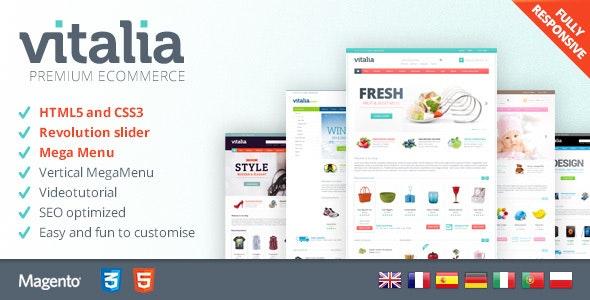 Vitalia - Premium Magento 2 Theme - Magento eCommerce