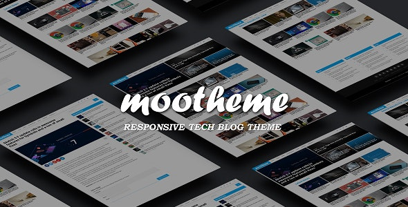 Mootheme - Tech Blog WordPress Theme - Blog / Magazine WordPress