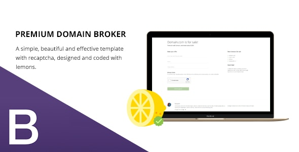Premium Domain Broker - Minimal & Responsive - Miscellaneous Specialty Pages
