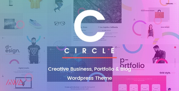 Circle - Creative Business, Portfolio & Blog WordPress Theme - Portfolio Creative