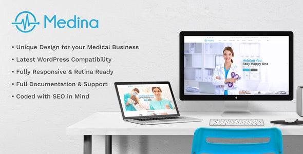 Medina - Medical & Health Template - Health & Beauty Retail