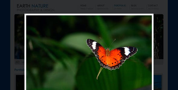 Earth Nature - HTML