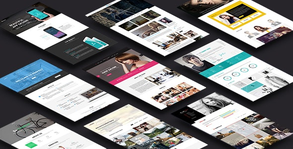 Perfect - Creative Multipurpose PSD Template - Creative PSD Templates