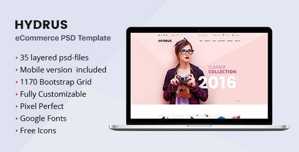 Hydrus - Fashion eCommerce PSD template - Fashion Retail
