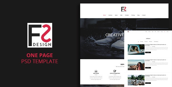 FS - One Page Template - Portfolio Creative