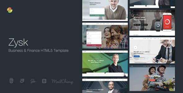 Zysk - Advisior & Finance HTML5 Template