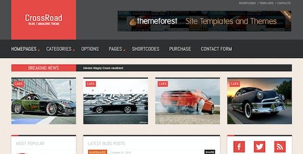 CrossRoad - Responsive WordPress Magazine / Blog