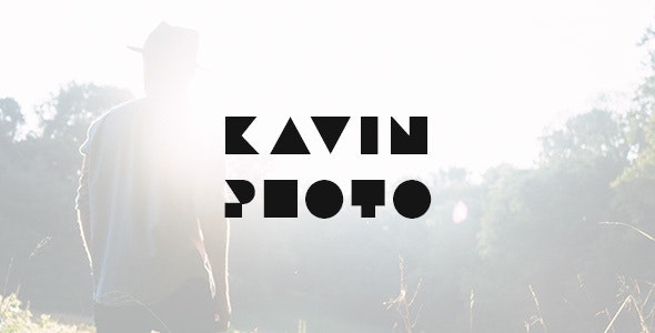 Kavin - Photography Blog Joomla Template - Personal Blog / Magazine