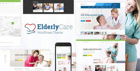 Elderly Care - Senior Care WordPress Theme - Health & Beauty Retail