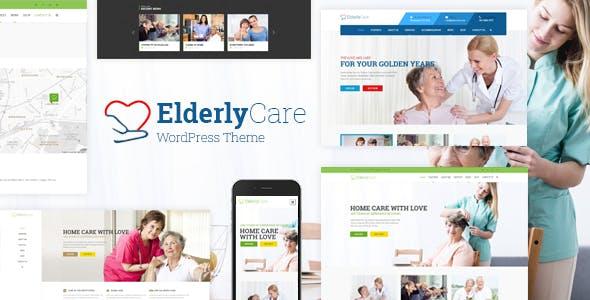 Elderly Care - Senior Care WordPress Theme
