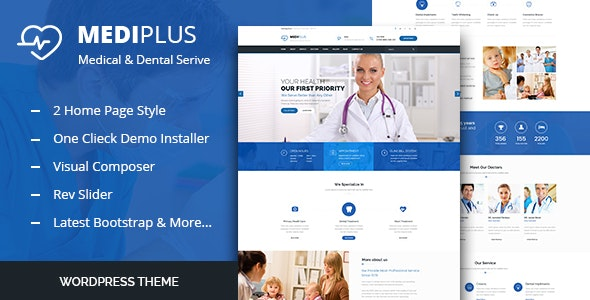 Medi Plus - Health Care WordPress Theme - Health & Beauty Retail
