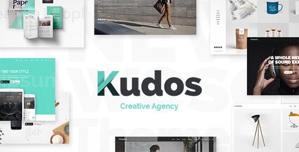 Kudos - Marketing Agency Theme - Creative WordPress