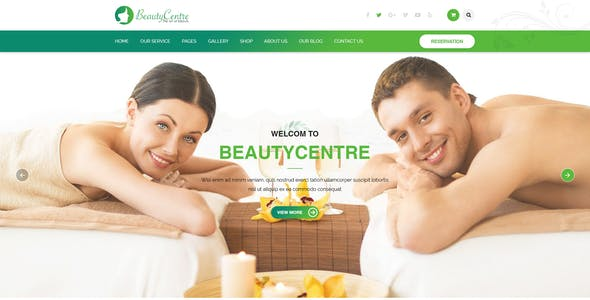 BeautyCentre - Professional Beauty & Spa Services HTML