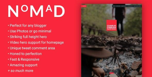 NMD - A Theme for the WordPress Blogger - Blog / Magazine WordPress