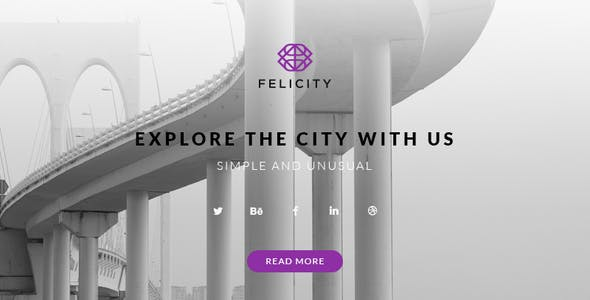 Felicity – Responsive HTML Email + StampReady, MailChimp & CampaignMonitor compatible files