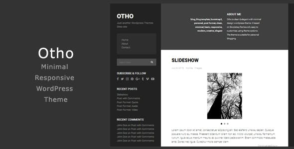 Bxslider Modern WordPress Themes from ThemeForest