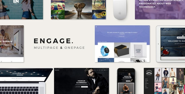 Engage - Creative Multipurpose HTML Theme - Creative Site Templates