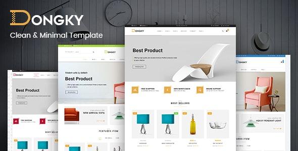 Vina Dongky - Clean & Minimal VirtueMart Joomla Template - VirtueMart Joomla