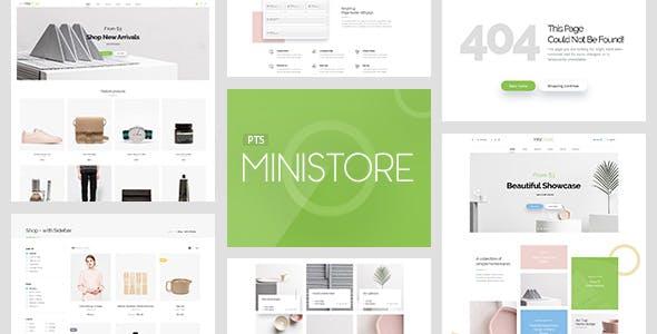 Pts Ministore - Clean & Minimum Prestashop Theme 1.6 & 1.7