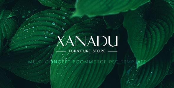 Xanadu – Multi Concept eCommerce PSD Template - Retail Photoshop