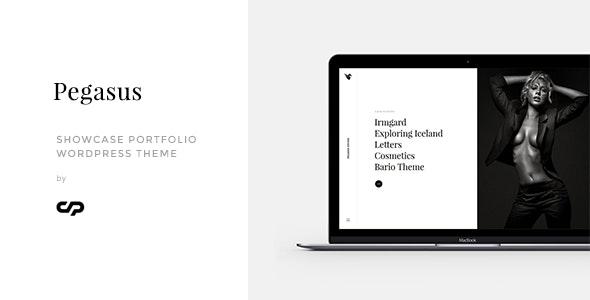 Pegasus - Showcase Portfolio WordPress Theme - Creative WordPress