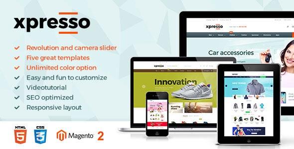 Xpresso - Premium Magento 2 Theme - Magento eCommerce
