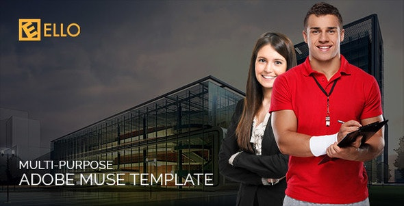 Ello | Multi-purpose Adobe Muse Template - Creative Muse Templates