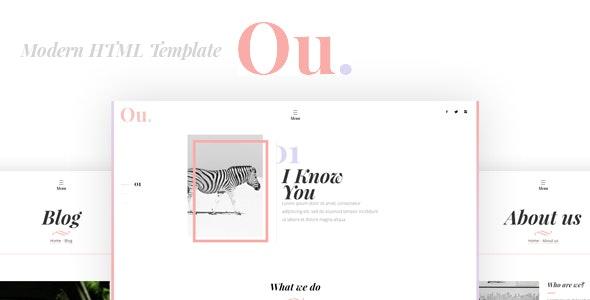 Oumlil - Creative HTML Template - Creative Site Templates